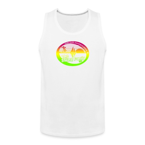 TSF colourful Tank - Men's Premium Tank Top
