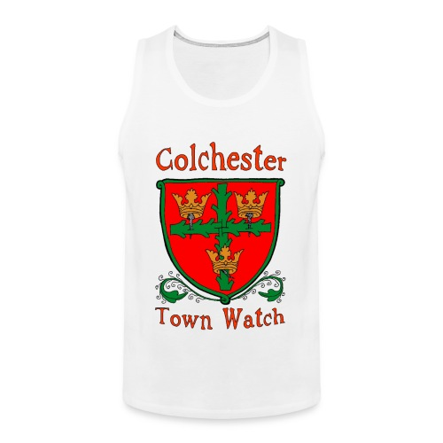 Colchester Town Watch Men's Premium Tank Top - Men's Premium Tank Top