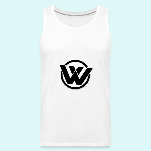WaVe Clan Men's Tank Top (Black Logo) - Men's Premium Tank Top