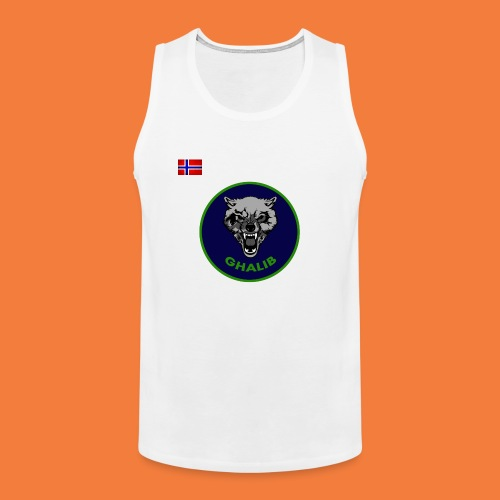 Ghalib tank top jersey ish - Men's Premium Tank Top