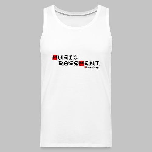 Music Basement  - Premium Tank Top - - Männer Premium Tank Top