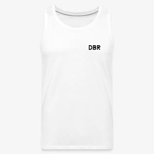 DBR Tanktop - Männer - weiss - Männer Premium Tank Top