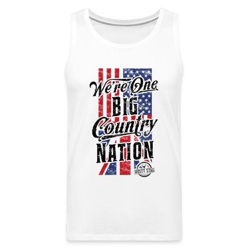 Country Nation Mens Tank - Men's Premium Tank Top