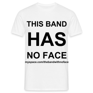 No face Boys - Men's T-Shirt