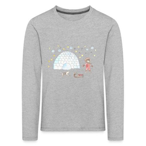 Kinder-Langarm-Shirt Iglu - Kinder Premium Langarmshirt