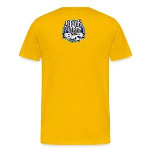 G-Classic Tee [The YellowBlue Edition ] - Men's Premium T-Shirt