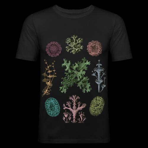 Haeckel lichen slim - Slim Fit T-shirt herr