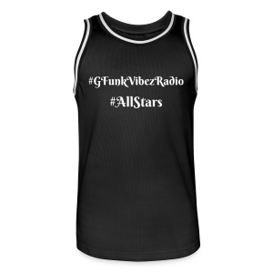 The Playa'z Tank [ No Logo Edition, All Black ] - Men's Basketball Jersey