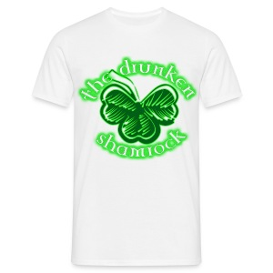The Drunken Shamrock - Men's T-Shirt