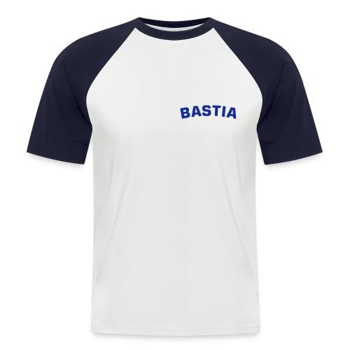 tee shirt de bastia - T-shirt baseball manches courtes Homme