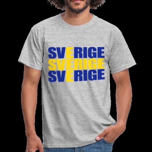 T-shirt, SVERIGE flag - T-shirt herr