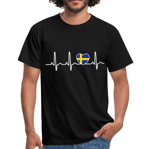 T-shirt, EKG Svenska Hjärtan - T-shirt herr