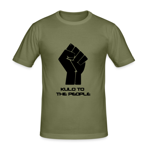 Kulo to the People - Men's Slim Fit T-Shirt