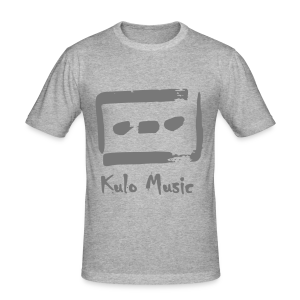 Kulo Cassette - Men's Slim Fit T-Shirt