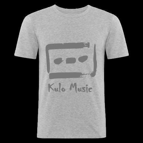 Kulo Cassette - Men's Slim Fit T-Shirt