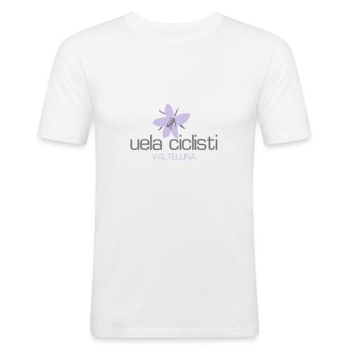 valtellina lavender/gray - Männer Slim Fit T-Shirt