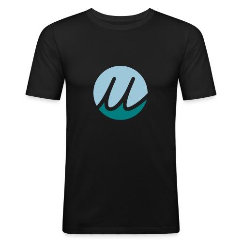 brandy blue/petrol - Männer Slim Fit T-Shirt