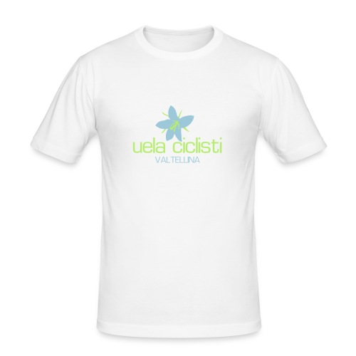 valtellina blue/green - Männer Slim Fit T-Shirt