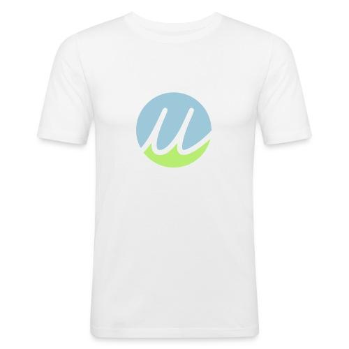 brandy blue/green - Männer Slim Fit T-Shirt