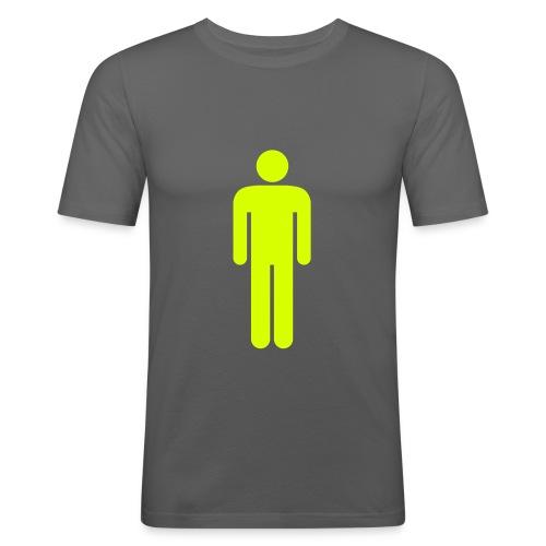 1 MAN - Herre Slim Fit T-Shirt