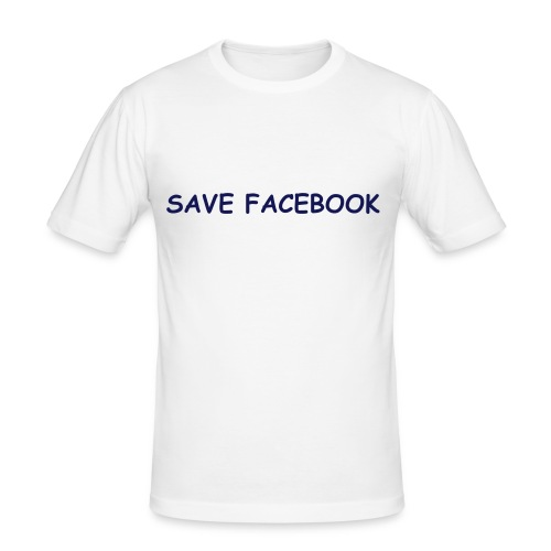 Save Facebook - Men's Slim Fit T-Shirt
