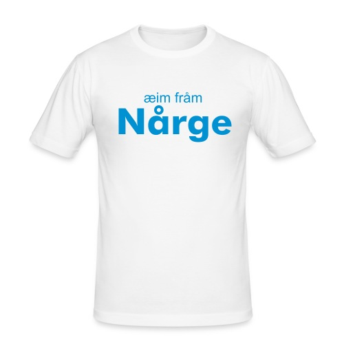 nrge - Slim Fit T-skjorte for menn