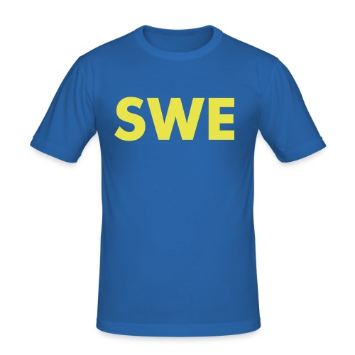 swe - Slim Fit T-skjorte for menn