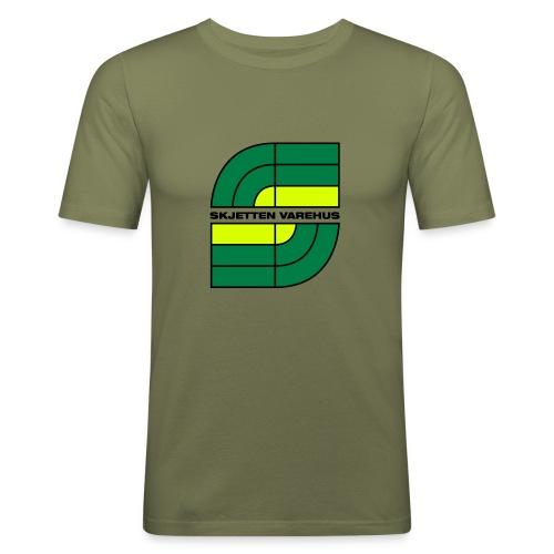 Skjetten Varehus (Stav) - Slim Fit T-skjorte for menn