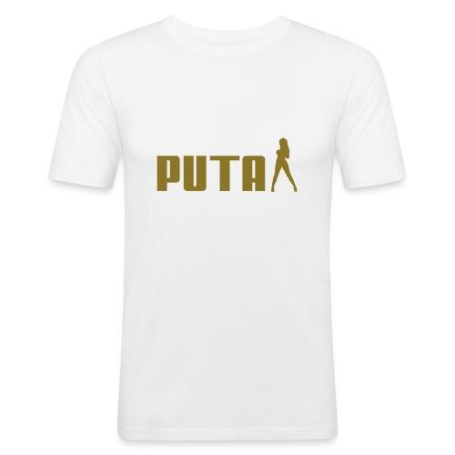 PUTA - Slim Fit T-skjorte for menn