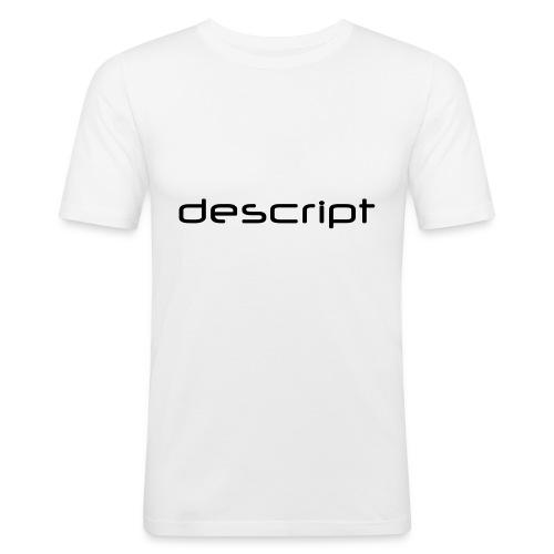 Logo Type 2008 - Männer Slim Fit T-Shirt