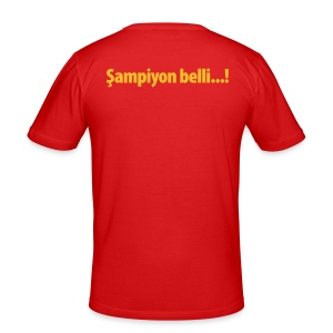 Şampiyon belli... GS - Männer Slim Fit T-Shirt