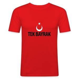 Tek bayrak - Männer Slim Fit T-Shirt