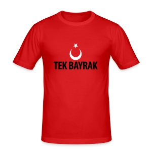 Tek bayrak - Männer Slim Fit T-Shirt