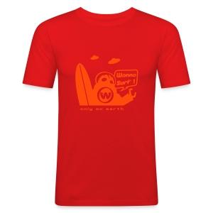 UFO - Slim Fit - Men's Slim Fit T-Shirt