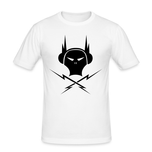 Tshirt Slim Electro Skull - T-shirt près du corps Homme