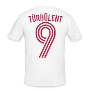 TÜRBÜLENT 10 (Away) - Männer Slim Fit T-Shirt