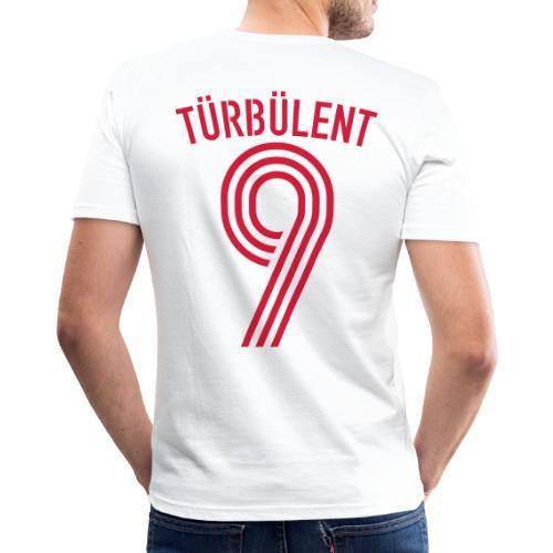 TÜRBÜLENT 10 (Away) - Männer Slim Fit T-Shirt