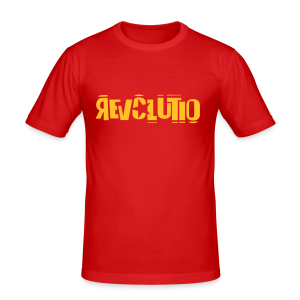 REVOLUTIO (Sun) - Männer Slim Fit T-Shirt