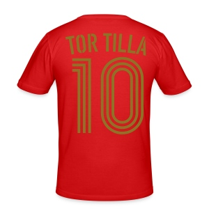 TOR TILLA 10 (Home - Gold) - Männer Slim Fit T-Shirt