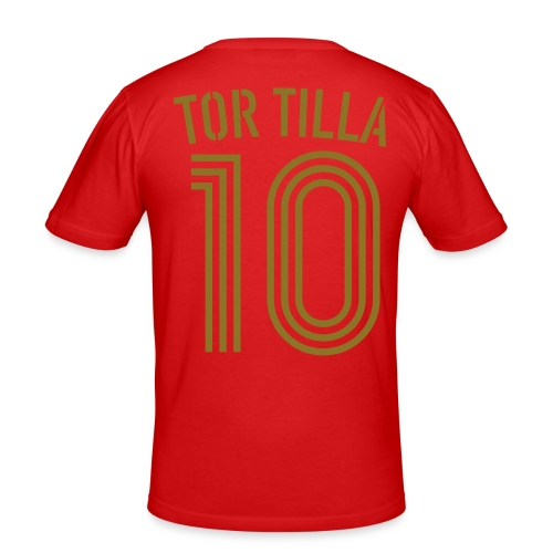 TOR TILLA 10 (Home - Gold) - Männer Slim Fit T-Shirt