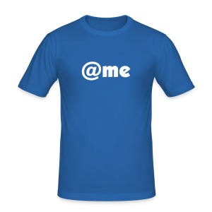 """AT ME"" - Men's Slim Fit T-Shirt"