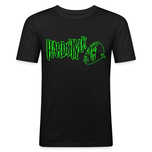 Hardstyle Masker, neongroen flex - slim fit T-shirt