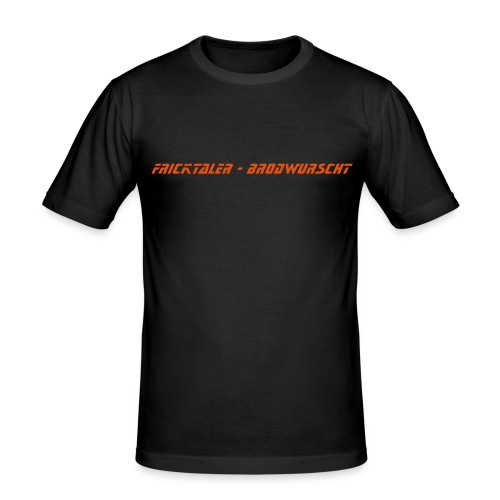 Friktaler Shirt - Männer Slim Fit T-Shirt