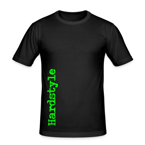 Hardstyle, neongroen flex - slim fit T-shirt