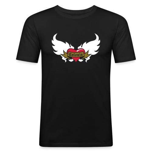 Colonia (Koelsches Haetz) - Männer Slim Fit T-Shirt