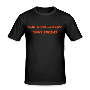 San Diego - Anchorman Tee - Men's Slim Fit T-Shirt