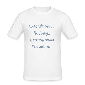 Lets talk about sex baby - Salt 'N' Pepa Tee - Men's Slim Fit T-Shirt