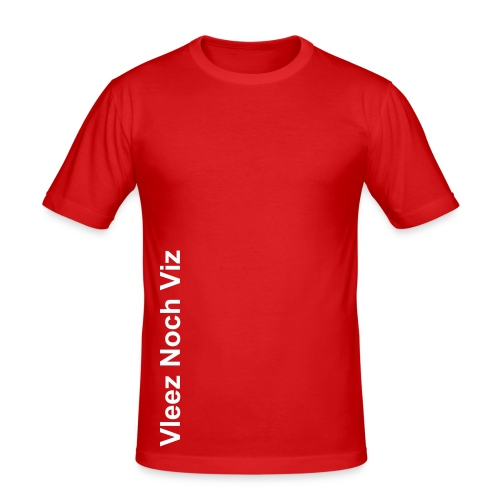 Vleez Noch Viz herenshirt - slim fit T-shirt