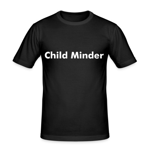 Child Minder - Men's Slim Fit T-Shirt