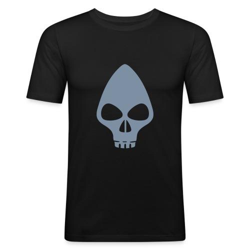 Alien Totenkopf - Männer Slim Fit T-Shirt